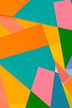 Colorful Abstract Background - Paper Design - Geometric Shapes