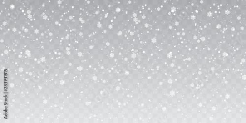 Cuadros en Lienzo Christmas snow