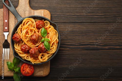 Tela Meatballs pasta in tomato sauce