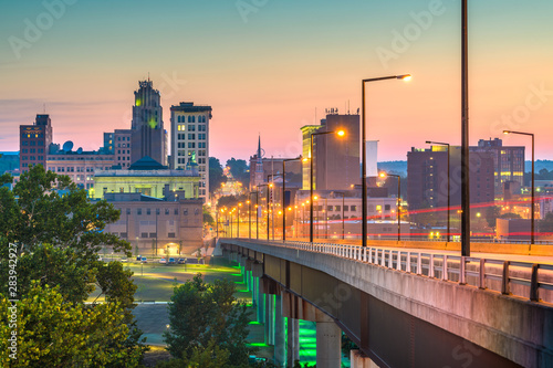 Youngstown, Ohio, USA Town Skyline Wallpaper Mural