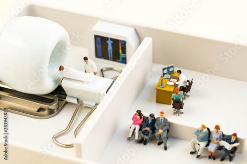 本当に信頼できる病院と診断能力 Fototapet
