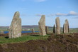 canvas print picture - Ring of Brodgar