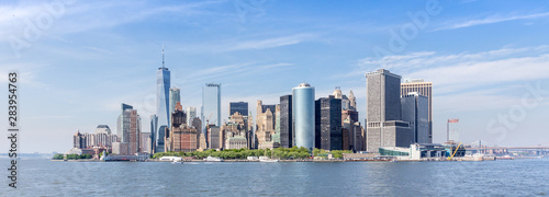 Cuadros en Lienzo  Panoramic view of Lower Manhattan, New York City, USA.