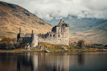 Kilchurn Castle On Loch Awe In...