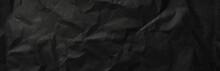 Black Paper Texture Background - Banner