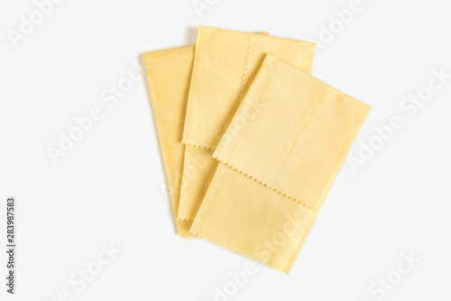 Cloth beeswax food storage wrap ecological alternative to plastic cling wrap Canvas Print