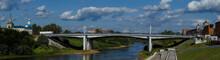 Panorama Of The Bridge Across ...