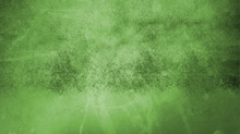 Green Background Texture With Vintage Grunge And Watercolor Paint Splash, Old Elegant Textured Backdrop