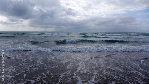 Fototapeten Natur Wave