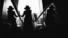 Woman With Hat. Conceptual Ima...