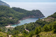 Overlooking the Bay of Cala Tuent in Mallorca