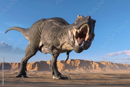 tyrannosaurus Fototapet