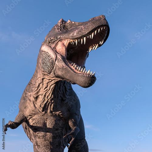 Obraz na plátně tyrannosaurus