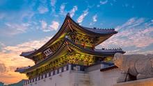 The Gate Of Gyeongbokgung Pala...