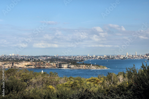 Photo  Sydney Harbour From North Head Sydney Australia