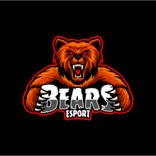 Bear Gaming Logo, Bear Esport ...