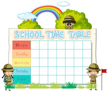 Timetable School Planning With...