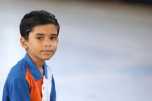 Portrait Of Indian Little Boy ...