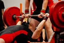 Athlete Powerlifter Start Atte...