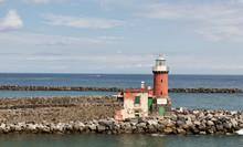 Faro Del Puerto De La Isla De ...