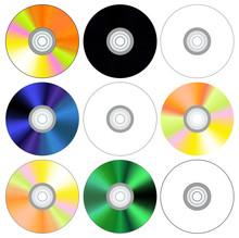 CD コンパクトディスク セット ベクターイラスト クリップアート