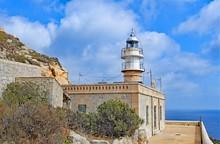 Solar Powered Lighthouse On Dr...
