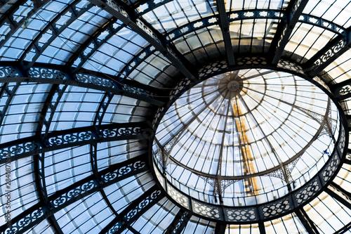 Photo  Un dettaglio della cupola della Galleria Vittorio Emanuele a Milano