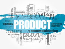 PRODUCT Word Cloud Collage, Bu...