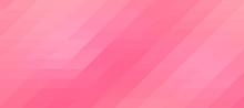 Abstract Pink Background. Mosaic. Geometric Pattern.