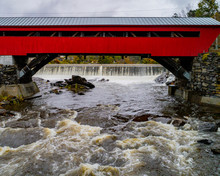 A Red Covered Bridge First Bui...