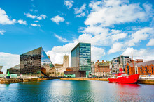 Waterfront And City Skyline, L...