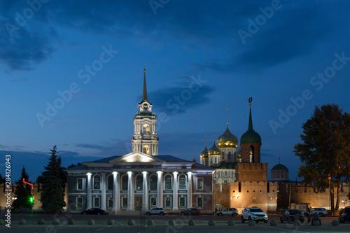 Ancient kremlin in Tula at night, Russia Tapéta, Fotótapéta
