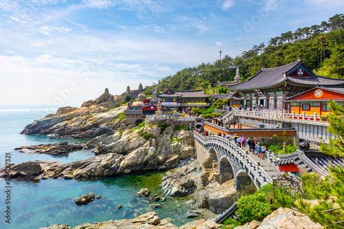 Obraz Haedong Yonggungsa Temple in Busan, South Korea. - fototapety do salonu