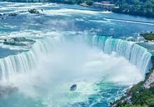 Niagara Falls On Summer Day