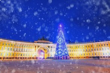 Saint Petersburg Is Decorated ...