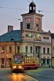 Ratusz w Łodzi.