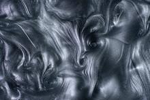 Abstract Silver Metallic Backg...