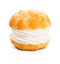 Cream Puff Or Profiterole, A F...
