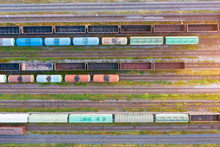 Aerial View Of Various Railway...