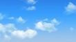 Seamless Loop of Moving Clouds