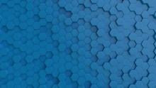 Hexagonal Light Blue Backgroun...