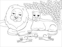 Illustration Of A Family Of Li...