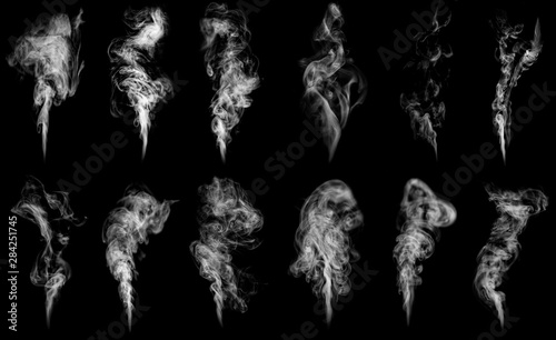 Wall Murals Smoke A large amount of smoke is taken with many options available in various graphic