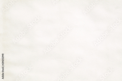 Photo  pale brown crumpled paper background texture