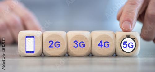 Fototapety, obrazy: 5G network concept