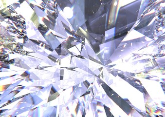 Realistic diamond texture c...