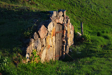 Root Cellar In A Countryside, ...