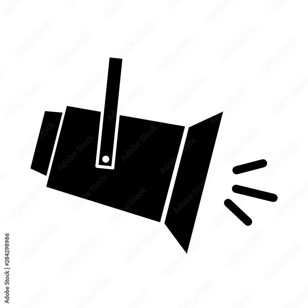 Fototapety, obrazy: Spotlight icon
