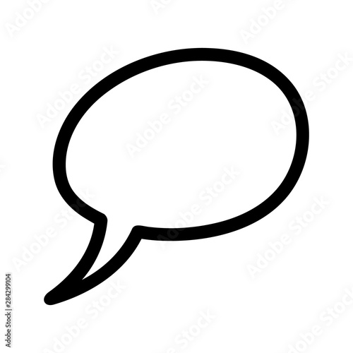 Valokuva  Speech bubble