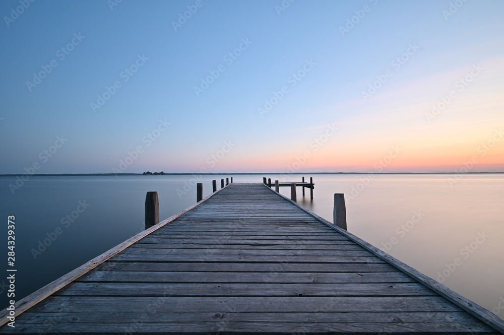 Fototapety, obrazy: Sonnenaufgang Steinhuder Meer